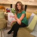 Jillian Michaels stops by Access Hollywood Live on December 2, 2011