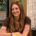 Shailene Woodley stops by Access Hollywood Live on December 6, 2011