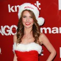 Audrina Patridge gets in the holiday spirit at Bongo's celebration of the holidays in style on Hollywood Blvd in Hollywood, Calif. on December 6, 2011