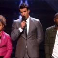 Rachel Crow, Steve Jones, Marcus Canty on 'The X Factor,' Dec. 8, 2011