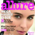 Rooney Mara on the cover of Allure magazine, January 2012