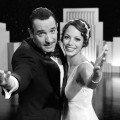 Jean Dujardin and Berenice Bejo in Weinstein Company's 'The Artist,' 2011