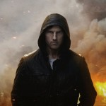Tom Cruise in a poster for 'Mission: Impossible - Ghost Protocol'