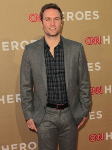 'Hart of Dixie' star Scott Porter attends the CNN Heroes: An All-Star Tribute at The Shrine Auditorium, Los Angeles, on December 11, 2011