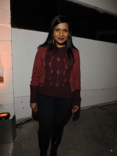Mindy Kaling attends the Grand Opening of Pressed Juicery in West Hollywood, hosted by co-founders Hayden Slater, Hedi Gores and Carly Brien, Dec. 13, 2011