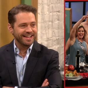 Access Hollywood Live: Jason Priestley Reacts To John Corbett's TV Strip Down