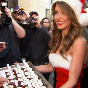 Audrina Patridge Is Santa's Little Helper