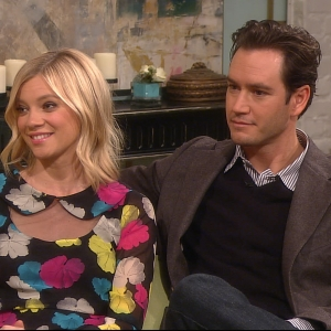 Access Hollywood Live: Amy Smart & Mark-Paul Gosselaar Share Their Respective Wedding Details