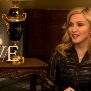 Madonna Reacts To Her Two &#8216;W.E.&#8217; 2012 Golden Globe Nods