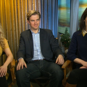 Joanne Froggatt, Dan Stevens & Michelle Dockery Talk 'Downton Abbey'