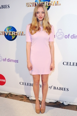 Amanda Seyfried arrives at March Of Dimes' 6th Annual Celebration Of Babies Luncheon at Beverly Hills Hotel in Beverly Hills, Calif., on December 2, 2011