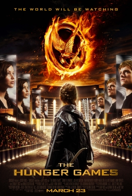 The poster marking 100 days until the release of &#8216;The Hunger Games,&#8217; December 15, 2011