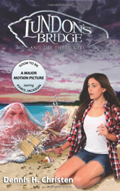 Paris Jackson on the cover of 'Lundon's Bridge'