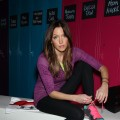 Katie Cassidy gets in shape with the help of Under Armour
