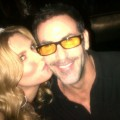 'The Real Housewives of Beverly Hills' star Brandi Glanville and Darin Harvey seen in Las Vegas on January 1, 2012