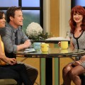 Kit Hoover and Billy Bush chat with Juliette Lewis on Access Hollywood Live on January 5, 2012
