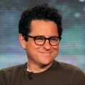 Executive producer J.J. Abrams speaks onstage during the &#8216;Alcatraz&#8217; panel during the FOX Broadcasting Company portion of the 2012 Winter TCA Tour at The Langham Huntington Hotel and Spa, Pasadena, on January 8, 2012