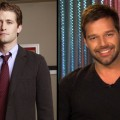 Matthew Morrison as Will Schuester (left), Ricky Martin on Access (right)