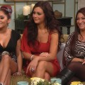 Access Hollywood Live: 'Jersey Shore' Girls Talk Getting Into Shape & JWoww's 'Cigarette Voice'