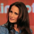 Andie MacDowell speaks onstage during the 'Jane By Design' panel during the Disney/ABC Television Group portion of the 2012 Winter TCA Tour at The Langham Huntington Hotel and Spa, Pasadena, on January 9, 2012