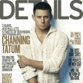 Channing Tatum on the cover of Details magazine, February 2012 issue