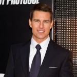 Tom Cruise attends the 'Mission: Impossible - Ghost Protocol' at the Ziegfeld Theatre in New York City on December 19, 2011