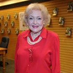 Betty White signs copies of her new book 'Betty & Friends: My Life at the Zoo' in Santa Monica, Calif. on December 19, 2011