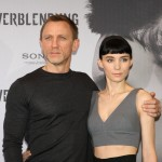 Daniel Craig and Rooney Mara pose at the photocall for 'The Girl With the Dragon Tattoo,' in Berlin, Germany, on January 5, 2012