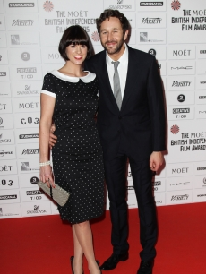 Chris O'Dowd and Dawn Porter attend The Moet British Independent Film Awards 2011 at Old Billingsgate Market, London, on December 4, 2011