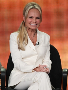 Kristin Chenoweth speaks during the &#8216;GCB&#8217; panel during the ABC portion of the 2012 Winter TCA Tour held at The Langham Huntington Hotel and Spa, Pasadena, on January 10, 2012
