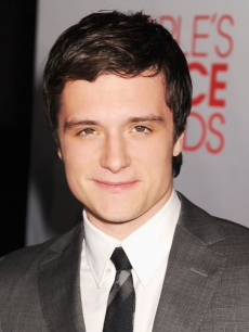 Josh Hutcherson arrives at the 2012 People's Choice Awards at Nokia Theatre L.A. Live in Los Angeles on January 11, 2012