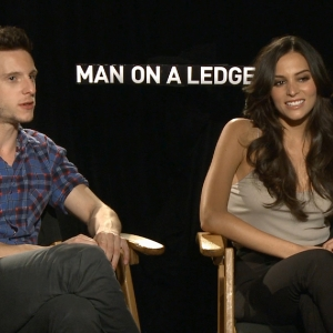 Jamie Bell & Genesis Rodriguez: It's The 'Thrills & Spills' Audiences Will Love Most About 'Man On A Ledge'