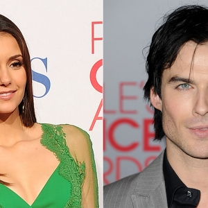 2012 People&#8217;s Choice Awards: &#8216;Vampire Diaries&#8217; Stars Nina Dobrev &amp; Ian Somerhalder Shoot Down Proposal Rumors