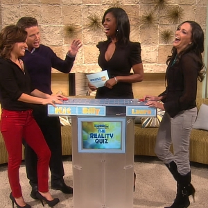 Access Hollywood Live: Omarosa Hosts A Reality TV Trivia Challenge!