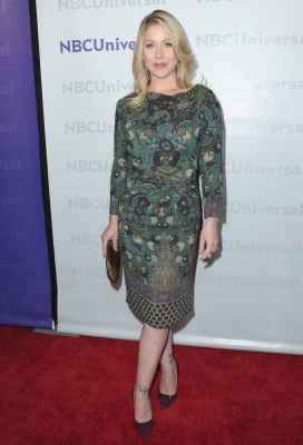 Christina Applegate arrives at the NBC Universal 2012 Winter TCA Tour All-Star Party in Pasadena on January 6, 2012