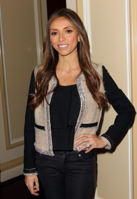 Giuliana Rancic poses during the E! Entertainment Television lunch panel during the NBCUniversal portion of the 2012 Winter TCA Tour at The Langham Huntington Hotel and Spa, Pasadena, on January 7, 2012