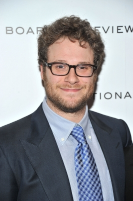 Seth Rogan steps out at the 2011 National Board of Review Awards gala at Cipriani 42nd Street in New York City on January 10, 2012