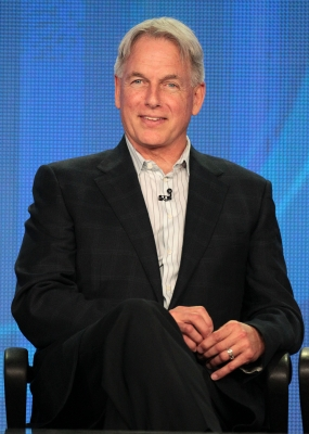 Mark Harmon, of the television show &#8216;NCIS,&#8217; speaks during the CBS portion of the 2012 Television Critics Association Press Tour at The Langham Huntington Hotel and Spa, Pasadena, on January 11, 2012