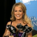 Miss Underwood with her many Billboard Music Awards