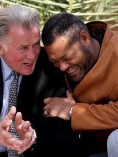 Martin Sheen & Laurence Fishburne at Marrakech Film Fest in Morroco