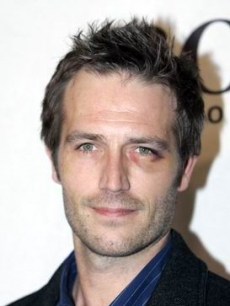 Michael Vartan looks a little roughed up on the benefit carpet