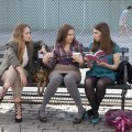 Jemima Kirke, Lena Dunham and Zosia Mamet in 'Girls'