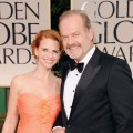 Kelsey Grammer and Kayte Walsh arrive at the 69th Annual Golden Globe Awards held at the Beverly Hilton Hotel in Beverly Hills, Calif. on January 15, 2012
