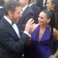 AccessHollywood.com's Laura Saltman chats with Bryan Cranston at the 2012 Golden Globes