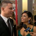 2012 Golden Globes Red Carpet: Channing Tatum&#8217;s &#8216;Fun&#8217; Time On &#8216;Magic Mike&#8217;