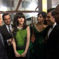2012 Golden Globes Red Carpet: Zooey Deschanel Is The 'New Girl' On The Block