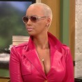 Amber Rose stops by Access Hollywood Live on January 17, 2012