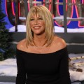 Suzanne Somers visits Access Hollywood Live on January 19, 2012