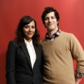 Rashida Jones and Andy Samberg pose for a portrait during the 2012 Sundance Film Festival at the Getty Images Portrait Studio at T-Mobile Village at the Lift in Park City, Utah, on January 20, 2012