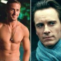 Ryan Gosling in 'Crazy Stupid Love' / Michael Fassbender in 'Shame'